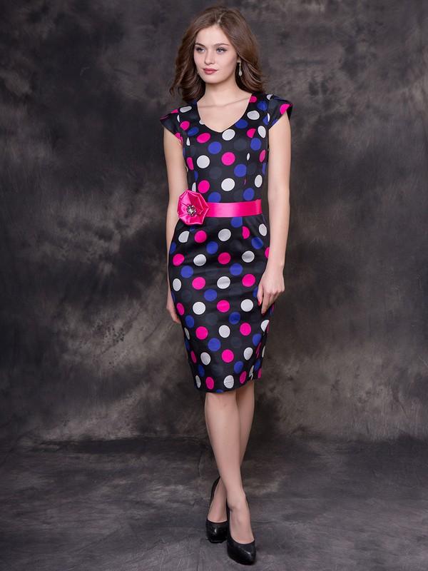 6fddd5f0fff Купить Платье korky горошек на черном в Москве по цене 2796.0 руб в ...