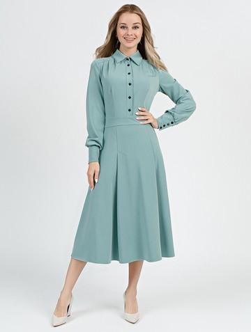 Платье alsu, цвет серо-зеленый