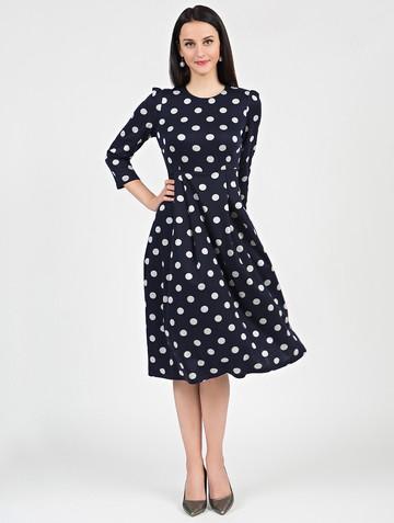 Платье elsy, цвет темно-синий