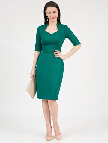 Платье tilly, цвет изумрудный