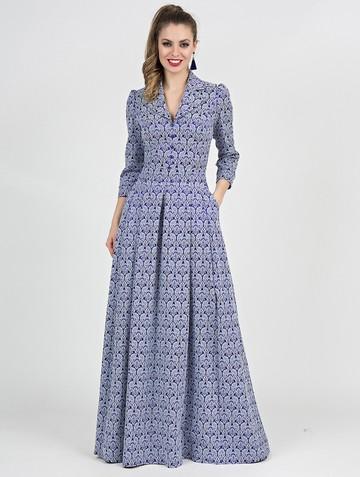 Платье delisha, цвет лазурный