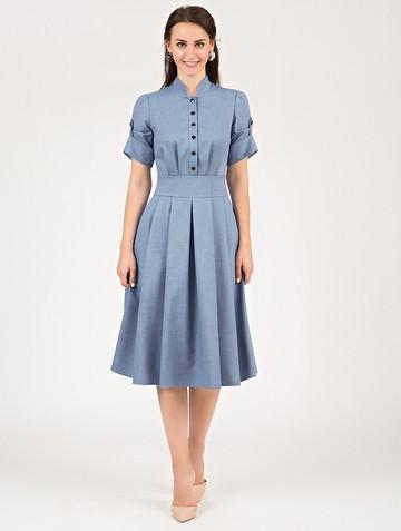 Платье mariatta, цвет голубой