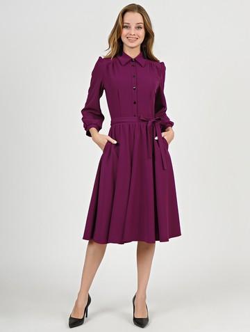 Платье luisa, цвет сливовый