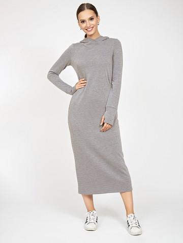 Платье duncan, цвет серый