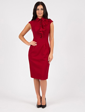 Платье aelika, цвет красный