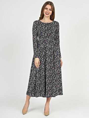 Платье sapfira, цвет сине-серый