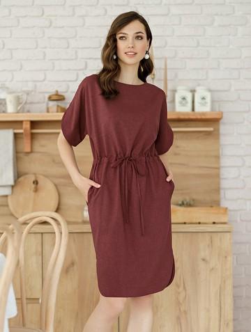 Платье molina, цвет бургундия