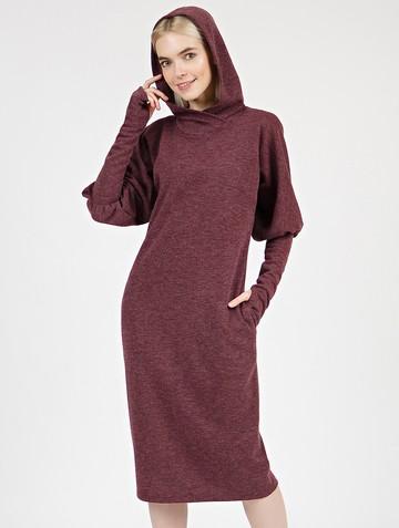 Платье lipty, цвет бордовый