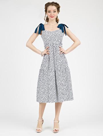 Платье mexy, цвет бело-синий