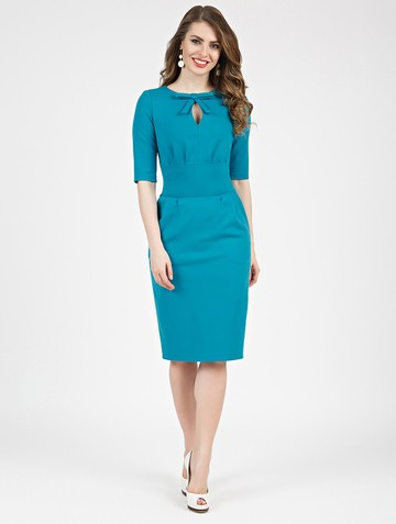 Платье brisby, цвет бирюзовый