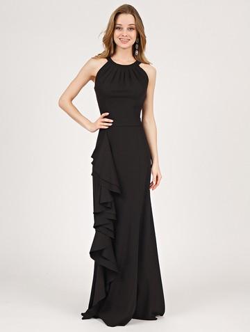 Платье aderly, цвет черный