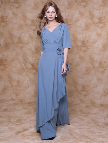 Платье nadin, цвет серо-голубой