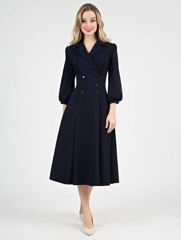 Платье uliana, цвет темно-синий