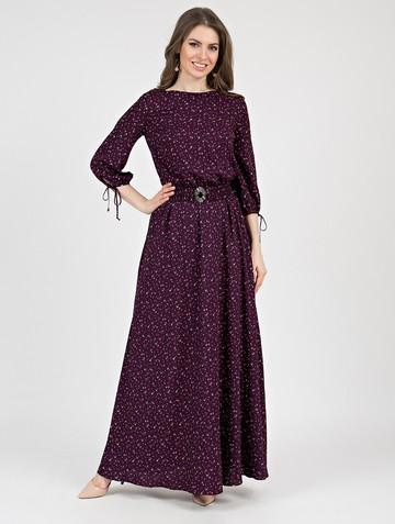 Платье assanta, цвет сливовый