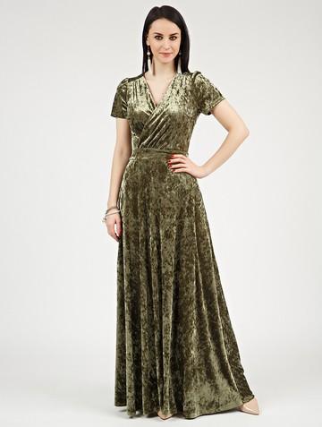Платье leonida, цвет хаки