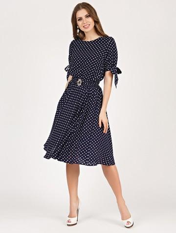 Платье alika, цвет сине-белый