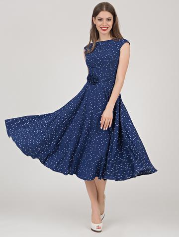 Платье midora, цвет синий