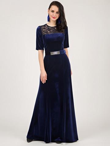 Платье tiara, цвет синий