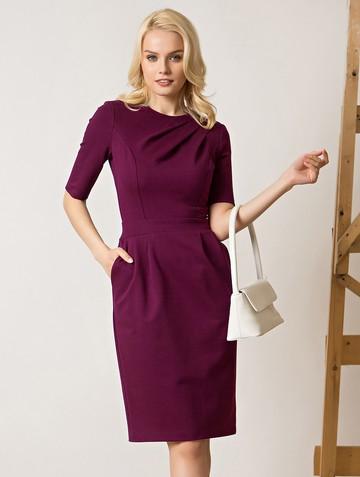 Платье hanky, цвет сливовый