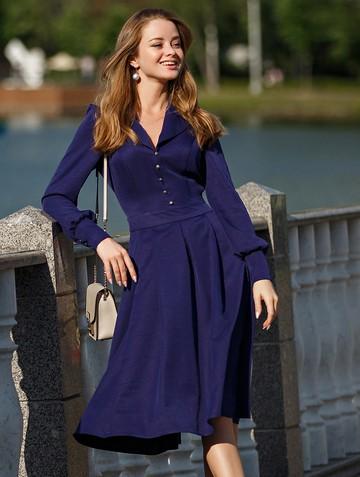 Платье dalva, цвет темно-синий