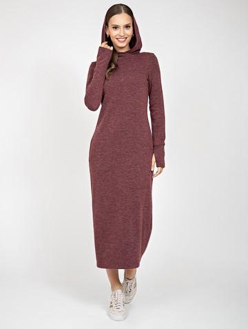 Платье duncan, цвет бордовый