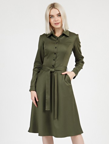Платье pransy, цвет хаки