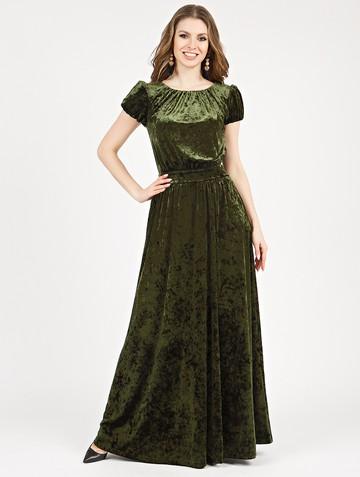 Платье veridy, цвет хаки