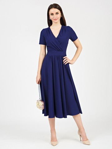 Платье atery, цвет синий