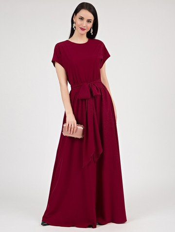 Платье kalma, цвет рубиновый