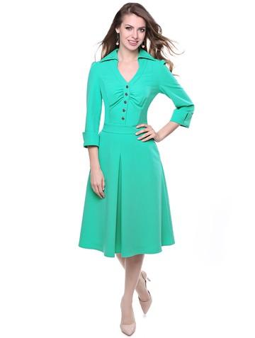 Платье olly, цвет светло-зеленый