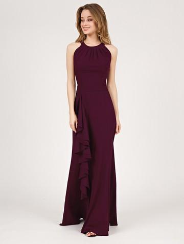 Платье aderly, цвет спелая слива