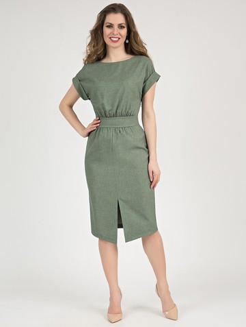 Платье remmy, цвет серо-зеленый