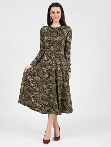 Платье agnetta, цвет черно-бежевый