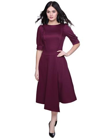 Платье elda, цвет сливовый