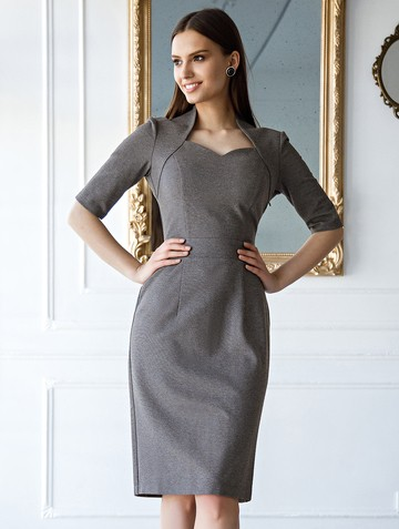 Платье tilly, цвет серый