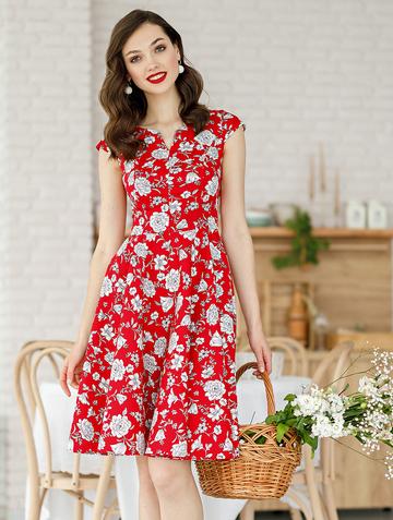 Платье bakly, цвет красный