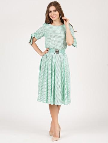 Платье alika, цвет ментоловый