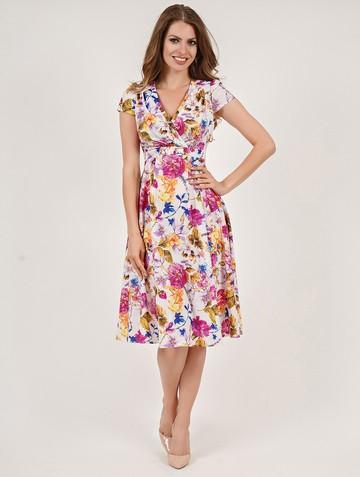 Платье paulina, цвет белый
