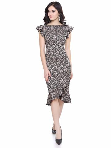 Платье twitty, цвет капучино