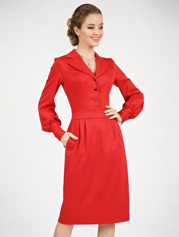 Платье rammy, цвет красный