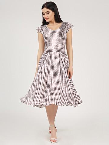 Платье ruslana, цвет белый
