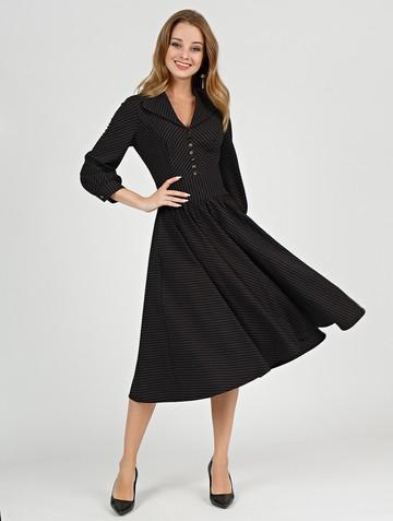 Платье berta, цвет черный