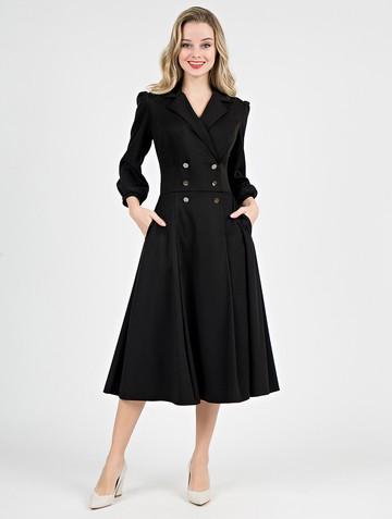 Платье uliana, цвет черный