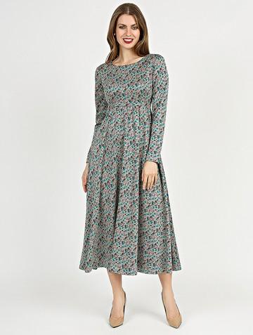 Платье sapfira, цвет серо-бирюзовый