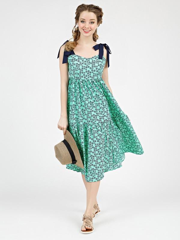 Платье mexy бирюзово-синего цвета от MARICHUELL: купить по цене 4990.05 руб. в Москве в интернет-магазине