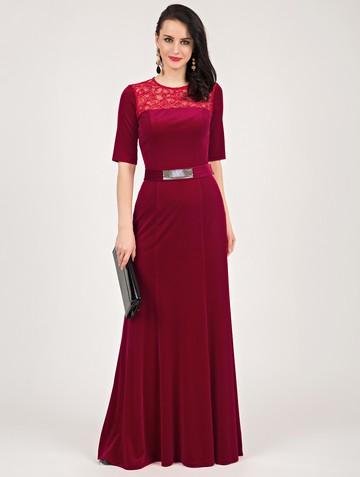 Платье tiara, цвет красный