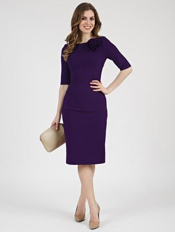 Платье anais, цвет фиолетовый