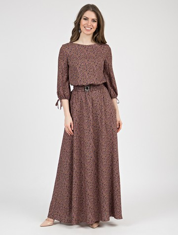 Платье assanta, цвет капучино