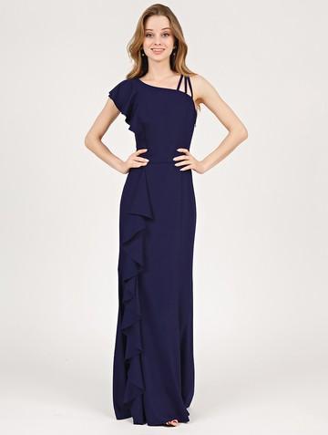 Платье lamberta, цвет чернильный