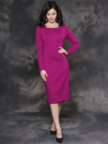 Платье ilva, цвет фуксия